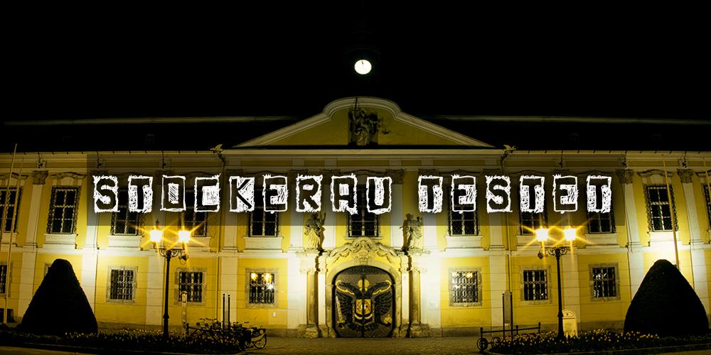 Rathaus Stockerau bei Nacht - Artikelbild über die Teststation Stockerau